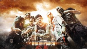 FIVE FINGER DEATH PUNCH 2013 by bob-eisenkolb