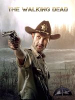 Rick Grimes: The Walking Dead by SPRSPRsDigitalArt