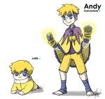 White Nuzlocke: Andy gijinka by ky-nim