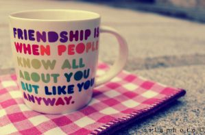 Friendship by Lilith1995