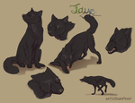 Jaye ref commission by DawnFrost