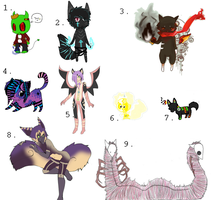 adopt resales batch 1 by ObsessyAdopts