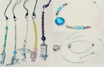 Examples of jewellery and phone charms by Tarsier11261