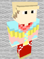 Marty Mcfly 1885 Minecraft Skin Preview by THATANIMATEDGUY