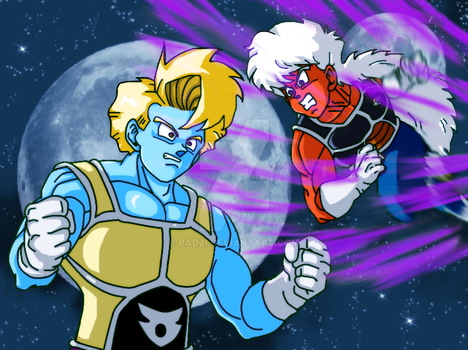 The Might of the Ginyu Force by Padzi