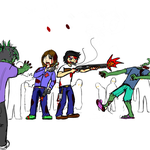 Zombie Invasion by TrueSnow