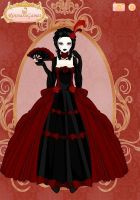 The Scarlet Widow of Ravenside by Lovely-Madness-13