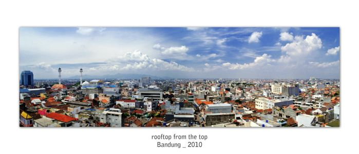 Rooftop from the top by footprintsofart