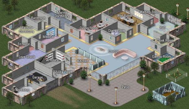 Big Brother House - LSN Style by thedevstudio