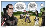Humorous Vignette Mass Effect 2 by Akatsuya