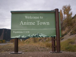 Anime town by gamerma