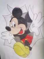 mickey mouse by galis33