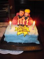 Beavis and Butthead cake by MableTheRabbid