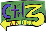 Ctrl Z Badge by toolboy963