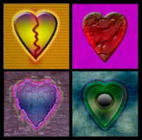 Broken Hearts Collection by Mystikka