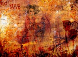 Ancient Lovestory by marjol3in