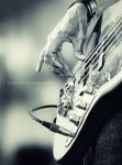 Playing Bass by hamry-wabula