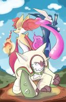 The Kalos Three by MattCarberry