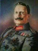 Kaiser Wilhelm II by linkerart