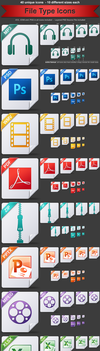 File Type Icons by treetog