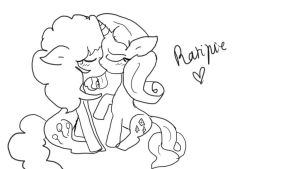 Raripie kiss by MartaPD2