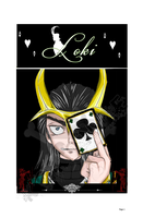 Loki version Manga. Portada Tankubon by darknesshikaru