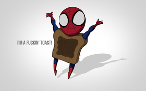 Toasty Spiderman - 100% Pentool by ShalevGD