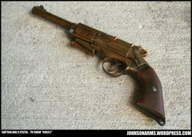 Captain Mal's Pistol Replica - TV Show FireFly by JohnsonArms