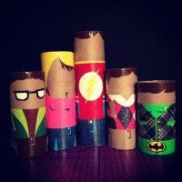 The Big Bang Theory Roll Group by GothianaVampet