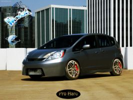 Honda Fit by marlon-vtuner