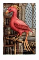 Fawkes by pebblepixie by HogwartsArt