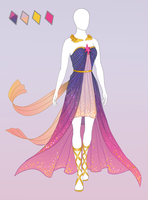 CLOSED Fashion adoptable ~ Twily-ish dress by ayleidian