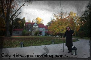 An Evening With Edgar Allan Poe by AndehDulac