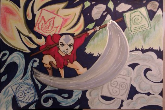 Avatar Aang by Hibernia-Small