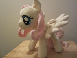 my little pony Fluttershy Plush by Little-Broy-Peep