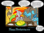 Angry Kings +Thanksgiving+ by iSapphirus