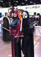Darth Nihilus with Visas Marr by Mormonpope