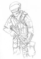 GROM Soldier by AngerOfSouls