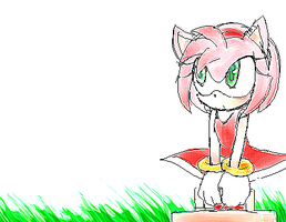 Sonic :: Waiting for somebody by Naplez