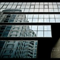 Facade Reflection by Renez