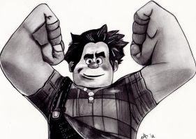 Wreck it Ralph by LightvsRight