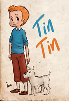 TinTin by surrenderdammit