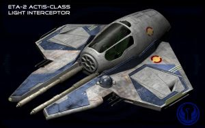 Jedi Starfighter Eta2 Actis Request by unusualsuspex