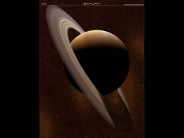 Saturn by A2597