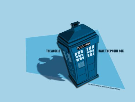 the angels have the phone box by greyfin