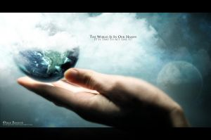 The world is in our hands by Indallion