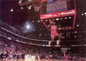 Michael Jordan 23 by Schultzy0023