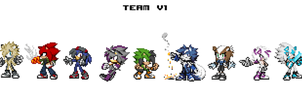 The Team V1 Finished (almost) Join the team. by MattTheHedgehog57