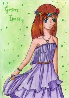 Green Spring by Elythe
