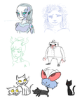 Sketchdump04 by The-Concept-Artist